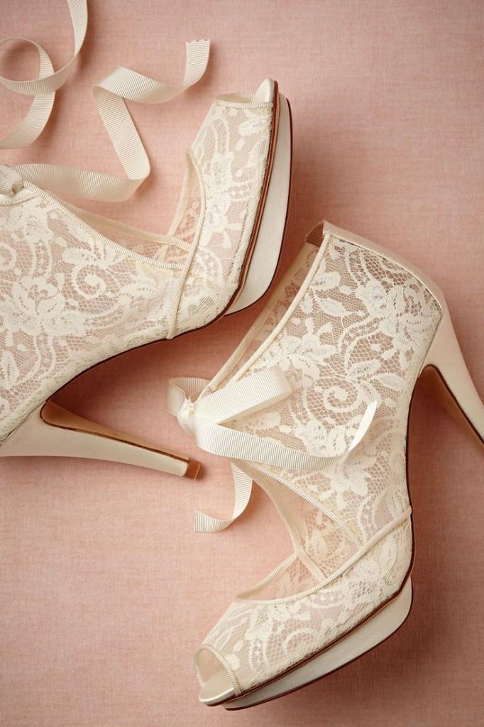 бални обувки дантела