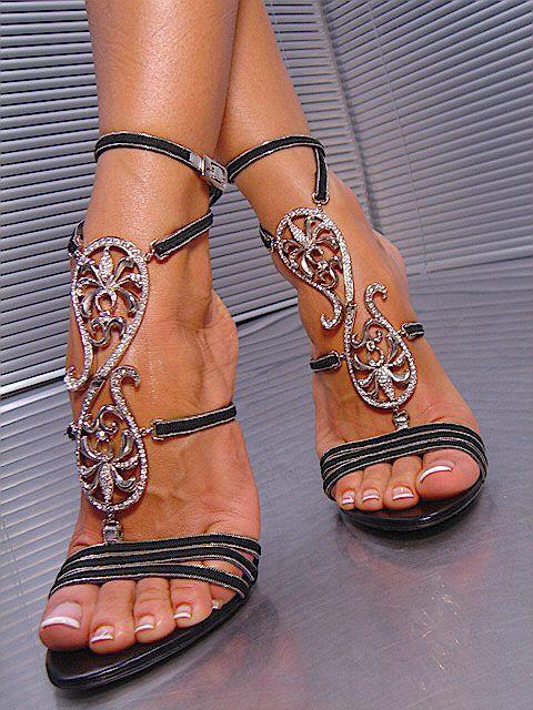бални сандали