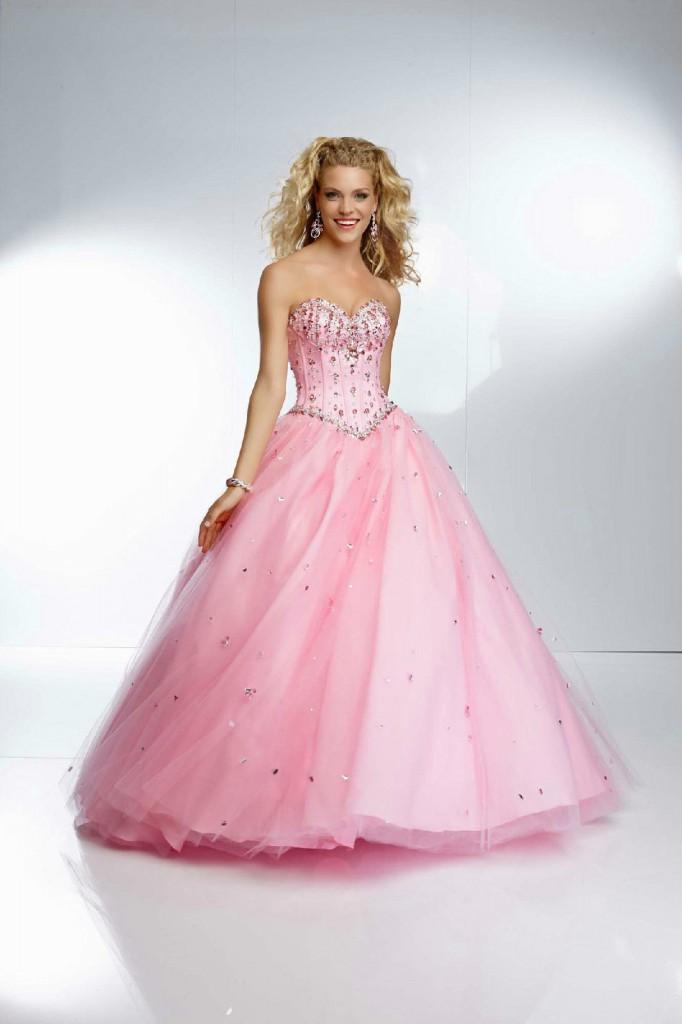 Нежно Розова Рокля Принцеса