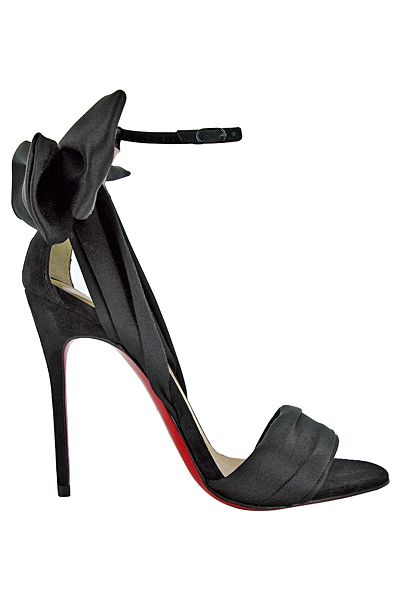 черни бални сандали