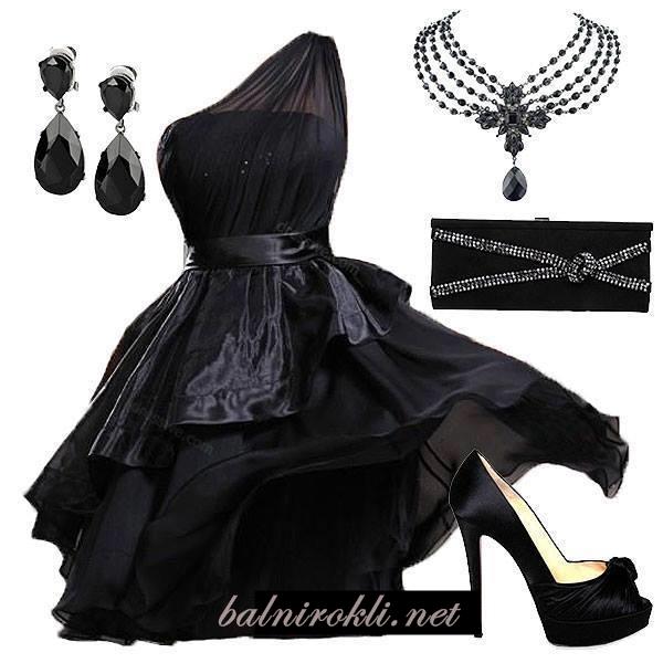 елегантна визия в черно