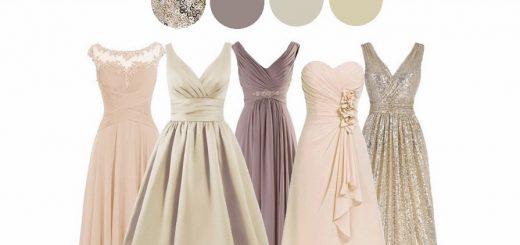 рокли в неутрални нюанси