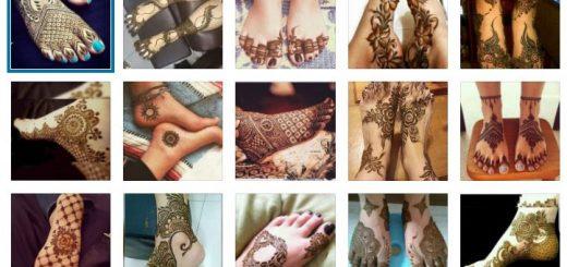 татуировки за крака с къна