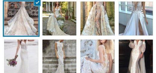 булчински дантелени рокли