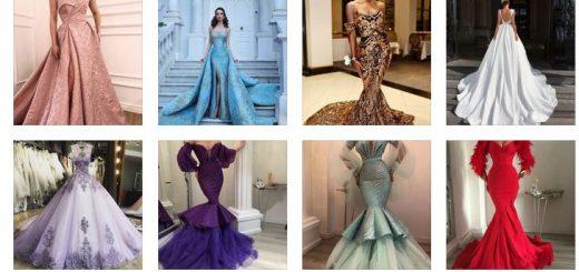 елегантни дълги бални рокли