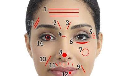 Какви Заболявания и Проблеми Разкриват Линиите и бръчките на Лицето ви ... Виж