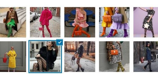 Модни чорапогащи пролет-лято 2020